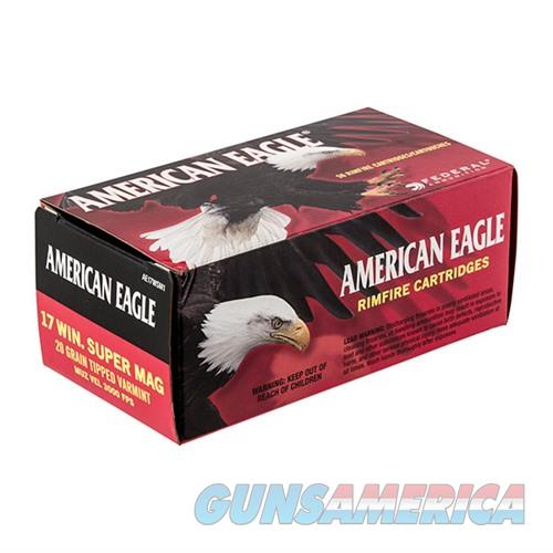 Federal American Eagle 17 Win Super Mag 20gr Tipped 50/bx  Non-Guns > AirSoft > Ammo