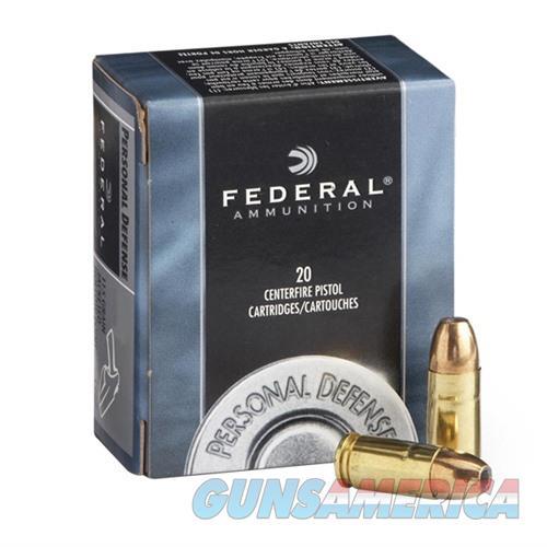 Federal Personal Defense 45 ACP 185gr JHP 20/bx  Non-Guns > Ammunition