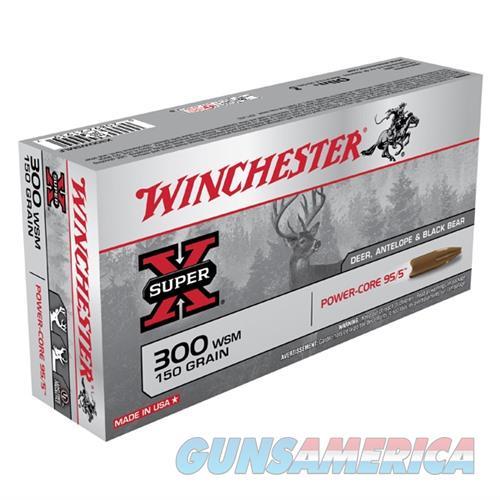 Winchester Super-X 300 WSM 150gr Power-Core 95/5 20/bx  Non-Guns > Ammunition