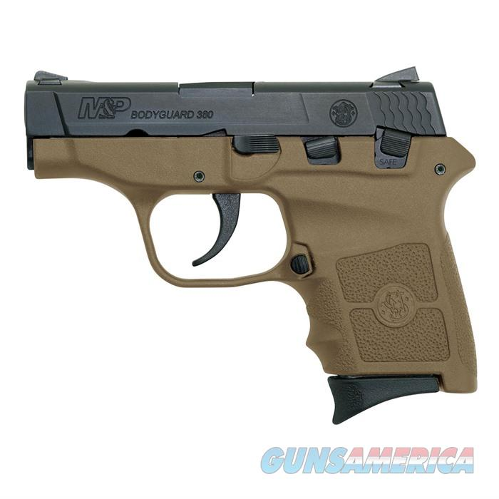S&W M&P Bodyguard,.380 No Laser 2 3/4''Bbl, 6Rd FDE  Guns > Pistols > Smith & Wesson Pistols - Autos > Polymer Frame