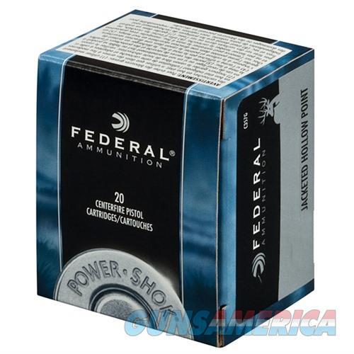 Federal Power Shok 357 Mag 180gr JHP 20/bx  Non-Guns > Ammunition