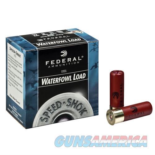 FEDERAL SPEED SHOK HV STEEL 12 GAUGE 3.5' 1-3/8OZ #T 25/BX  Non-Guns > Ammunition
