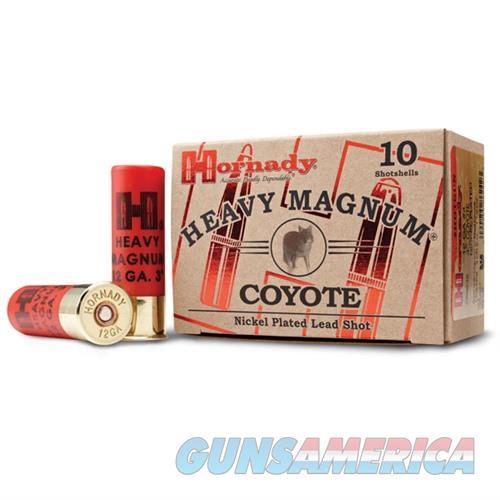 Hornady Heavy Magnum Coyote 12ga 3'' 1-1/2oz #00 10/bx  Non-Guns > Ammunition