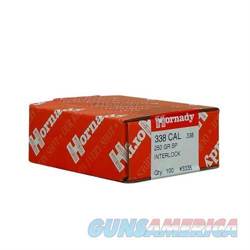 Hornady 338 CAL .338 250 GR SP-RP  Non-Guns > Reloading > Components > Bullets