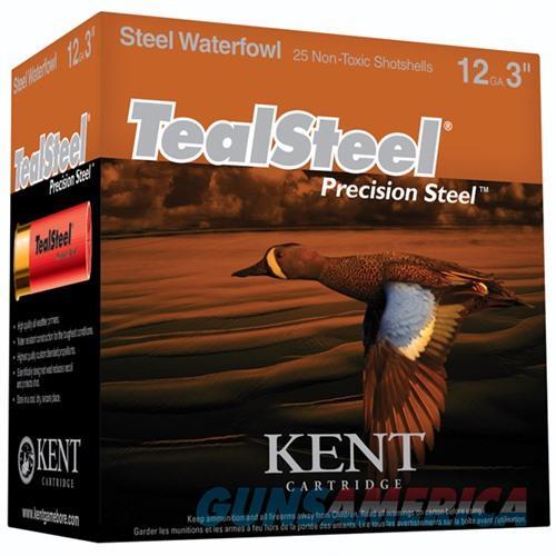 Kent TealSteel 12ga 3'' 1-1/4oz #6 25/bx  Non-Guns > Ammunition