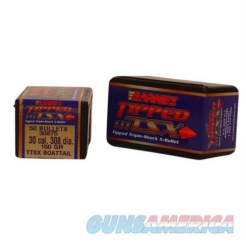 Barnes Bullet 30cal .308 150gr. Tipped TSXBT  Non-Guns > Reloading > Components > Bullets