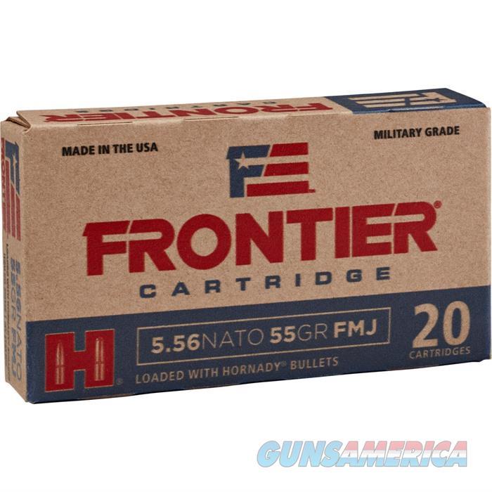 Frontier Ammo 5.56 NATO 68gr BTHPM 20bx,25bx/cs  Non-Guns > Ammunition