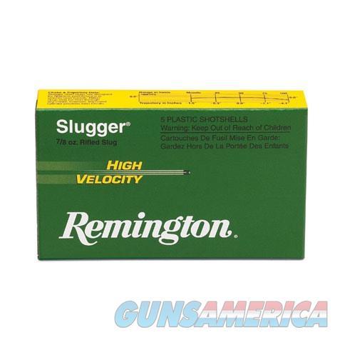 Remington Slugger HV 12ga 2.75'' 7/8oz Slug 5/bx  Non-Guns > Ammunition