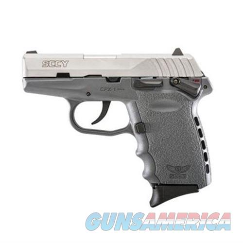 SCCY CPX-1 TTSG 9MM SS/SNIPER GRAY (DOUBLE SIDED SAFETY)  Guns > Pistols > SCCY Pistols > CPX1