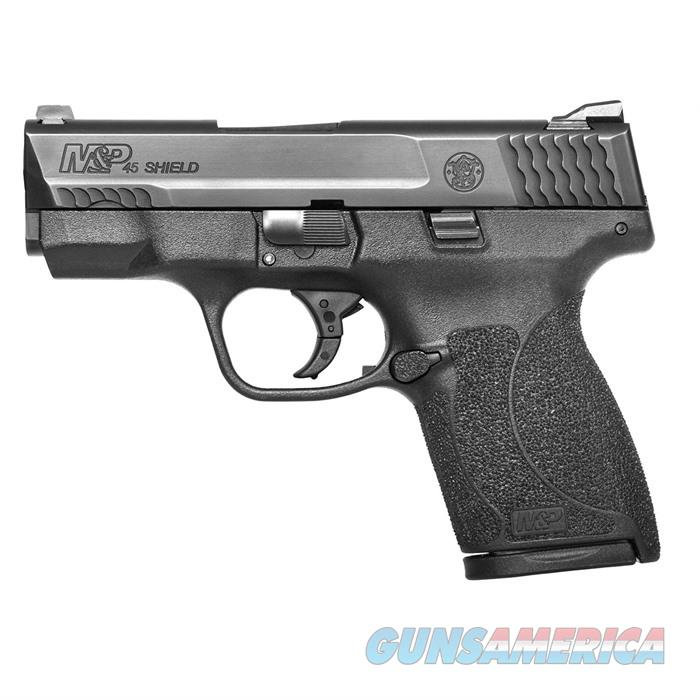 S&W M&P 45 Shield No TmbSfty Night Sights 3 Mags 3.3'' Bbl 7rd  Guns > Pistols > Smith & Wesson Pistols - Autos > Shield
