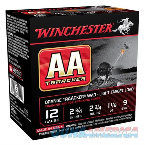 Winchester Light TrAAcker Orange 12ga 2.75'' 1-1/8oz #9 25/bx  Non-Guns > Ammunition
