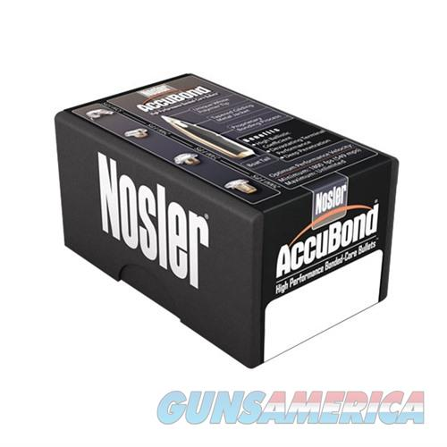 Nosler 6.5mm 130gr Spitzer AccuBond 50/bx  Non-Guns > Reloading > Components > Bullets