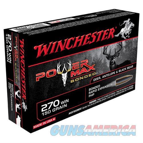Winchester Power Max 270 150gr PHP 20/bx  Non-Guns > Ammunition