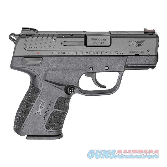 Springfield XDE 3'' bbl 9mm 8rd Black  Guns > Pistols > A Misc Pistols