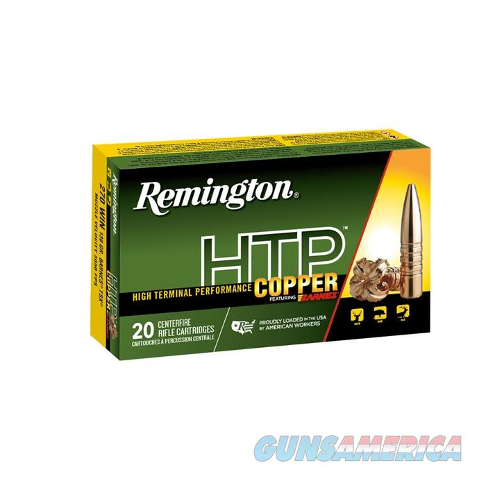 Rem HTP Copper 300 Rum Barnes TSX 180gr 20bx 10bx/cs  Non-Guns > Ammunition
