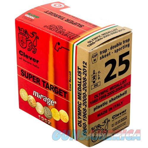 CLEVER MIRAGE SUPER TARGET 28GAUGE 3/4OZ #9 250/CASE (25 ROUNDS P  Non-Guns > Ammunition