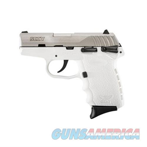 SCCY CPX-1 TTWT 9MM SS/WHITE (DOUBLE SIDED SAFETY)  Guns > Pistols > SCCY Pistols > CPX1