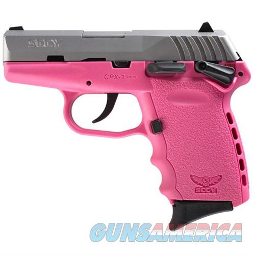 Sccy CPX-1 TTPK 9mm SS/Pink (Manual Safety)  Guns > Pistols > SCCY Pistols > CPX1