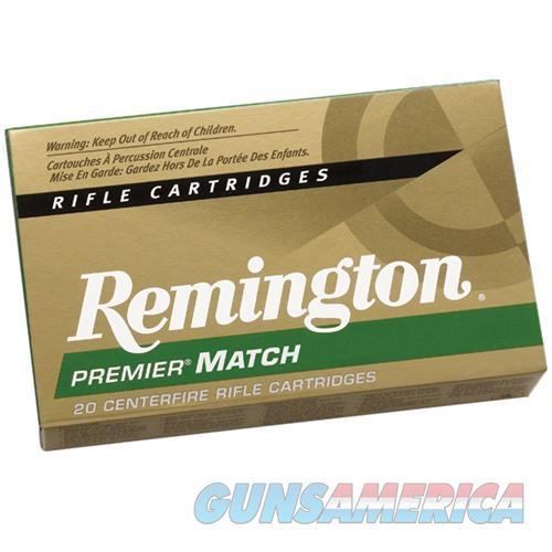 Remington Premier Match 223 Rem 62gr HP 20/bx  Non-Guns > Ammunition