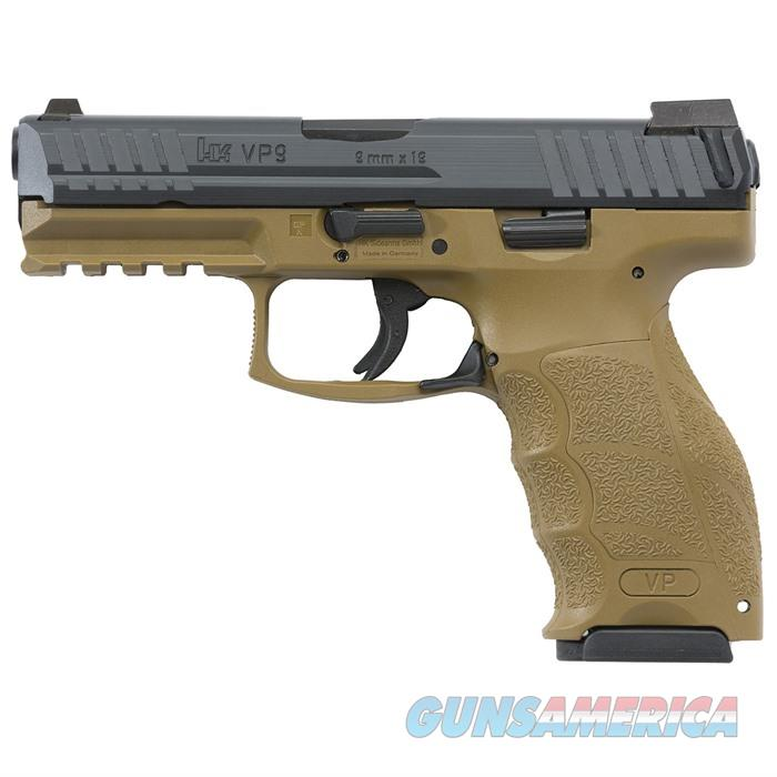 H&K VP9 fde semi auto 9mm night sights 3-10rd mags  Guns > Pistols > A Misc Pistols