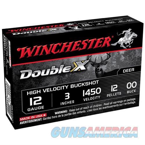 WINCHESTER DOUBLE X 12GAUGE 3' 12 PELLETS #00 5/BX (5 ROUNDS PER  Non-Guns > Ammunition