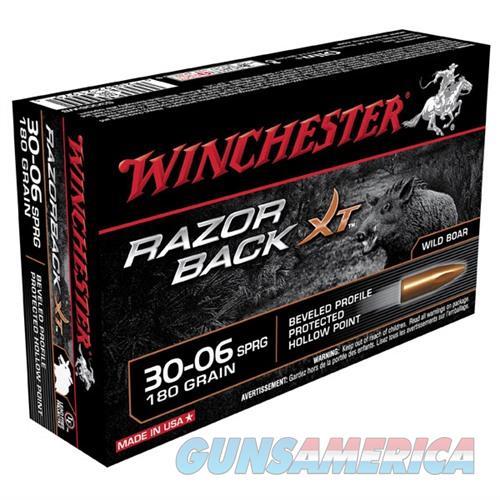 Winchester Razor Back XT 30-06 180gr PHP 20/bx  Non-Guns > Ammunition