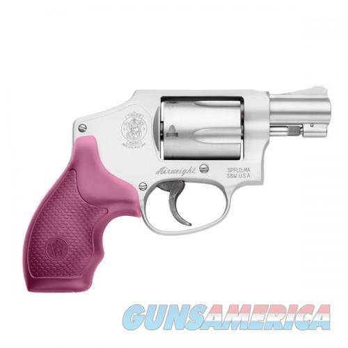 Sw 642-Airweight  Intl Hammer-Pink Grips,.38 S&W Spl+P  Guns > Pistols > Smith & Wesson Revolvers > Pocket Pistols