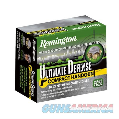Remington Ultimate Defense Compact 38 Spl +P 125gr BJHP 20/bx  Non-Guns > Ammunition
