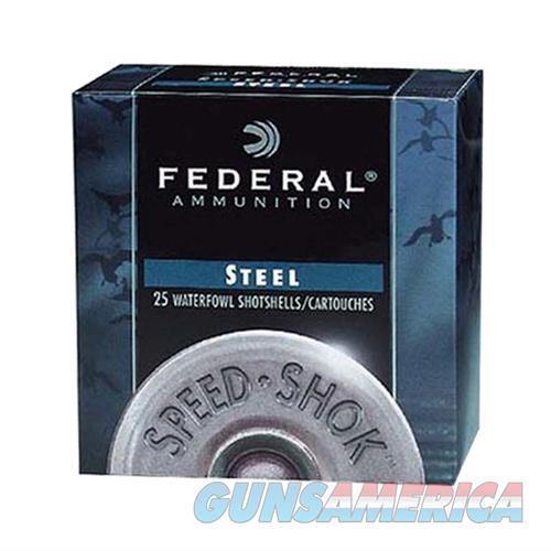 Federal Speed Shok HV Steel 12ga 3'' 1-1/8oz #1 25/bx  Non-Guns > Ammunition