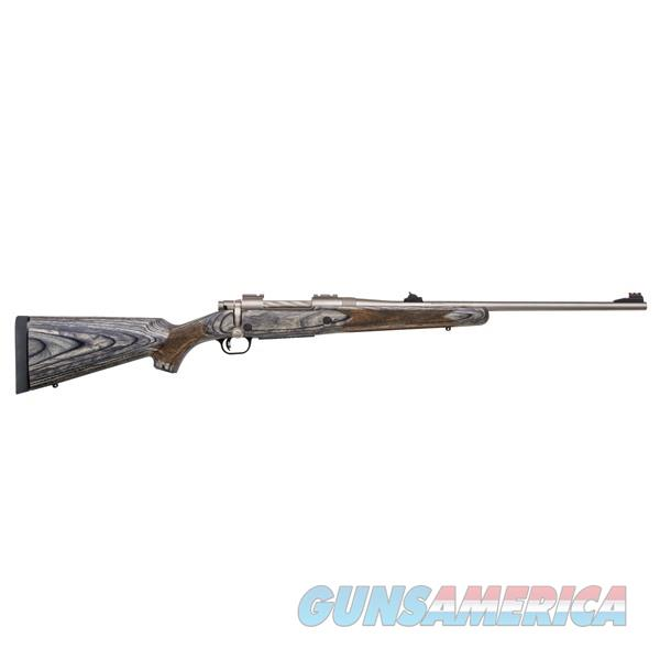 Mossberg Patriot 375 Ruger 22''  4-Rd Marinecote/Gray Laminate  Guns > Rifles > Mossberg Rifles > Patriot