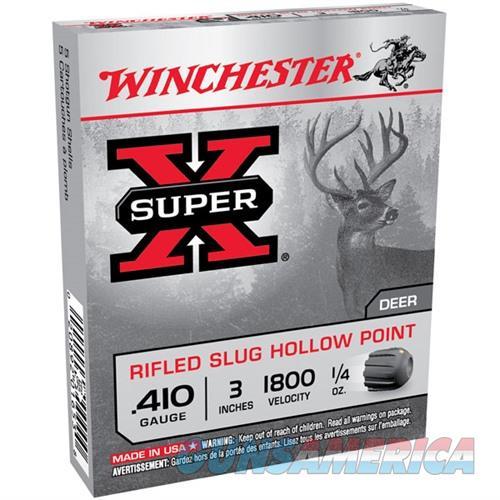 Winchester Super-X 410ga 3'' 1/4 oz. Slug 5/bx  Non-Guns > Ammunition