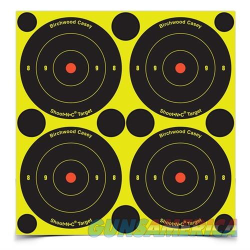 Shoot-N-C 3'' Bull's-Eye Target 12 Sheet Pack  Non-Guns > Targets > Clay Throwers