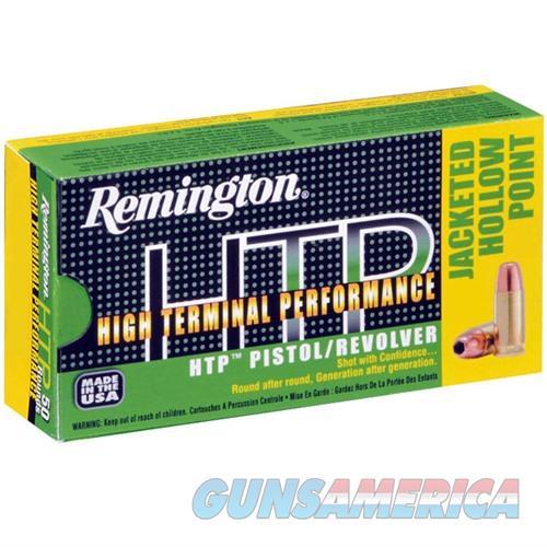 Remington HTP 38 SPL 110gr SJHP 50/bx  Non-Guns > Ammunition