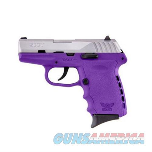 SCCY CPX-2 TTPU 9MM SS/PURPLE (NO EXTERNAL SAFETY)  Guns > Pistols > SCCY Pistols > CPX2