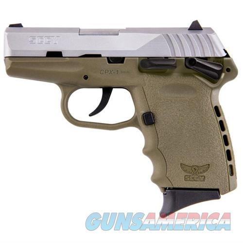 Sccy CPX-1 TTDE 9mm SS/FDE (Manual Safety)  Guns > Pistols > SCCY Pistols > CPX1