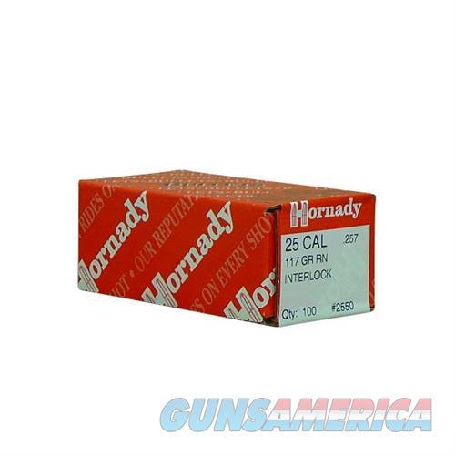 Hornady 25 CAL .257 117 GR RN  Non-Guns > Reloading > Components > Bullets