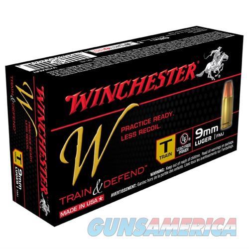 Winchester Train & Defend 9mm 147gr FMJ 50/bx  Non-Guns > Ammunition