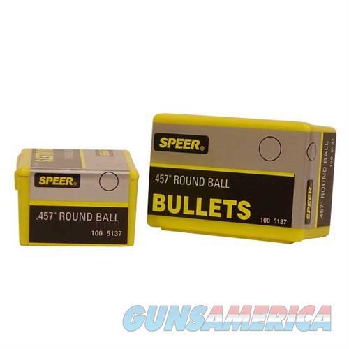 Speer Bullet Muz Rnd Ball .457  Non-Guns > Reloading > Components > Bullets