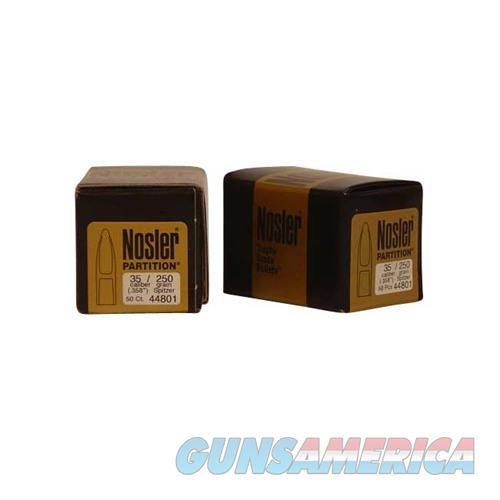 Nosler 35 Cal 250 gr Sp Partition  Non-Guns > Reloading > Components > Bullets