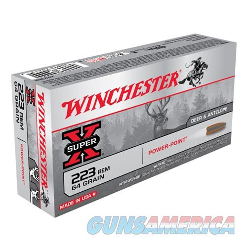 Winchester Ammo 223 Rem Super-X 64gr PP  Non-Guns > AirSoft > Ammo