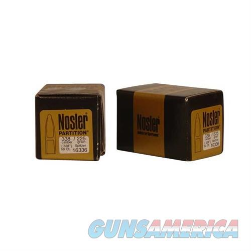 Nosler 338 Cal 225 gr Sp Partition  Non-Guns > Reloading > Components > Bullets