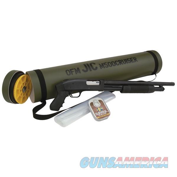 Mossberg 500 J.I.C. 12Ga 18.5''  Pistol Grip Survival Kit  Guns > Shotguns > Mossberg Shotguns > Pump > Sporting