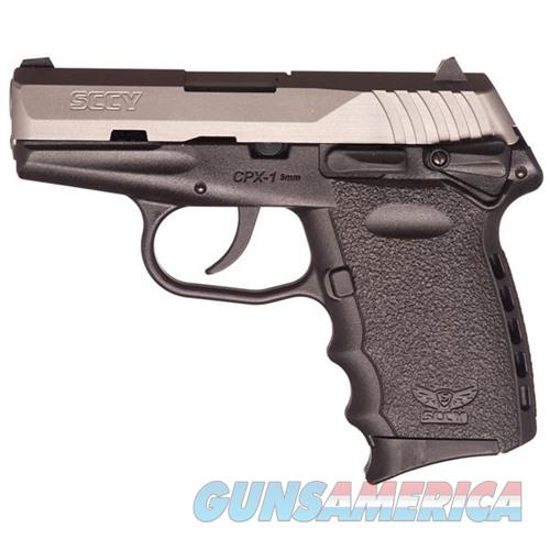 Sccy CPX-1 TT 9mm SS/Black (Manual Safety)  Guns > Pistols > SCCY Pistols > CPX1