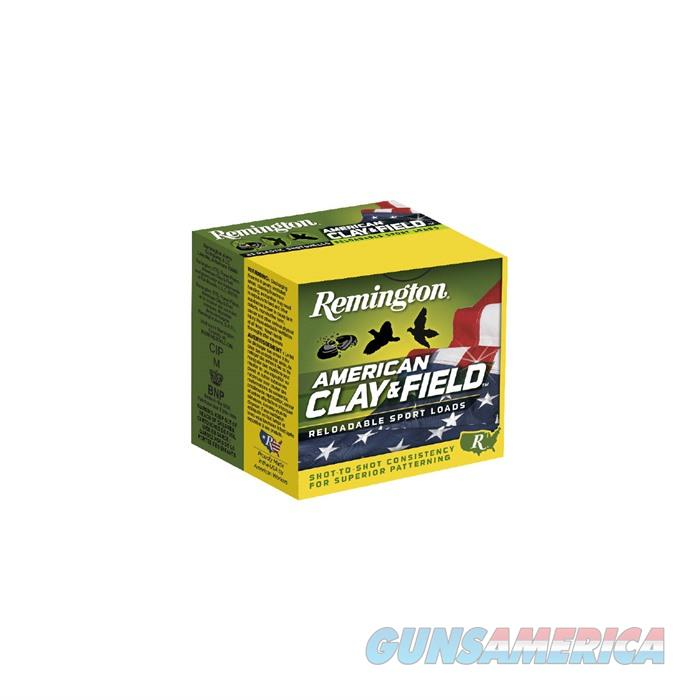 Rem Shotshell 20344 12Ga 2.75'' 3DR American Clay & Field 25/Bx  Non-Guns > Ammunition