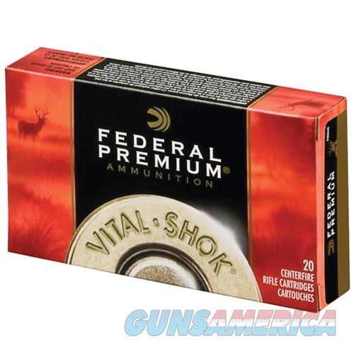 Federal Vital Shok 270 Win 130gr Trophy Bonded Tip 20/bx  Non-Guns > Ammunition