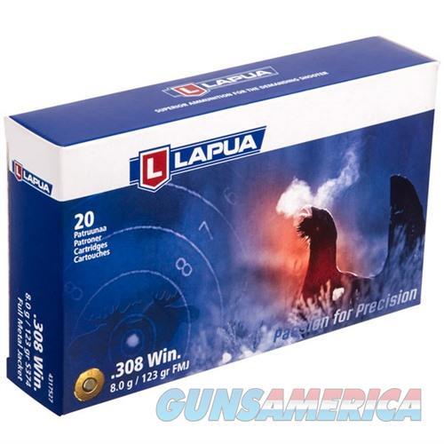 Lapua Ammo 308 Win 123gr FMJ 20/bx  Non-Guns > Ammunition