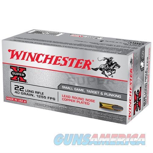 Winchester Ammo 22LR HV 40gr Lead RN  Non-Guns > Ammunition