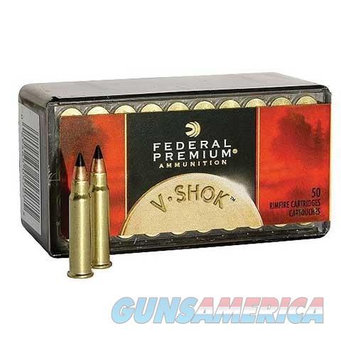 Federal Ammo 17 HMR V-Shok 17gr TNT  Non-Guns > Ammunition