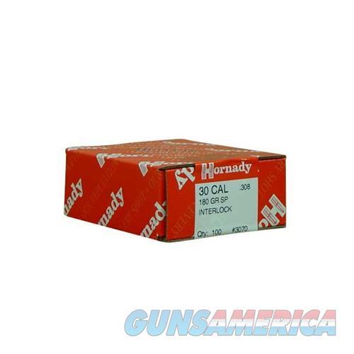 Hornady 30 CAL .308 180 GR SP  Non-Guns > Reloading > Components > Bullets