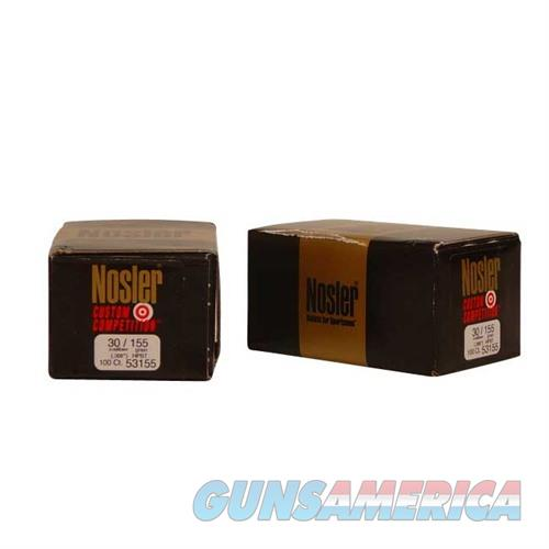 Nosler 30 Cal 155gr Custom Competition HPBT  Non-Guns > Reloading > Components > Bullets